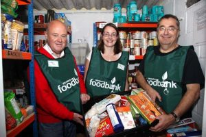 Volunteers at Wimbledon food bank