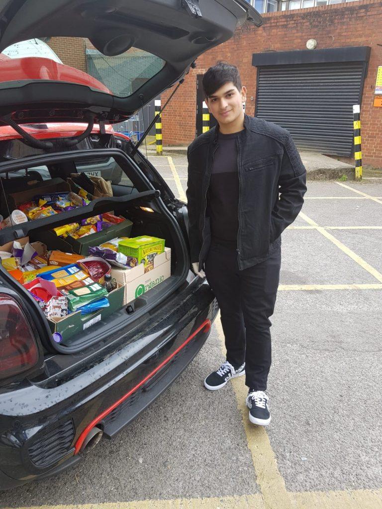 Merton mutual aid - Food donations