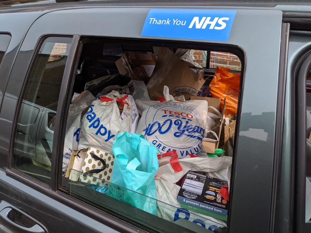 Merton Mutal Aid helping NHS